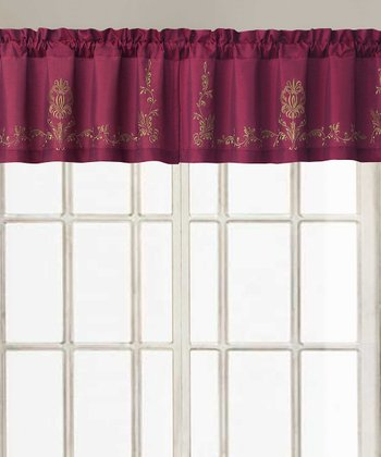 Red Garwood Valance