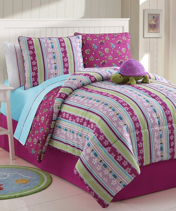 Purple Khloe Reversible Comforter Set
