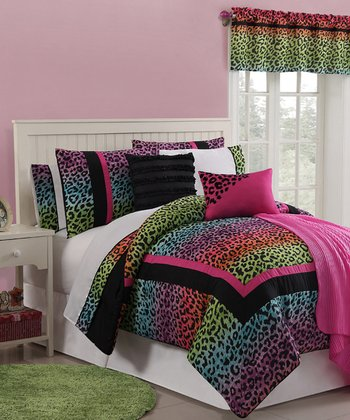 Leopard Fun Juvi Comforter & Sheet Set