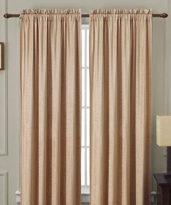 Gold Langdon Curtain Panel
