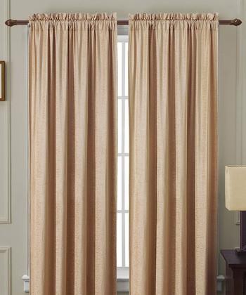 Gold Langdon Curtain Panel