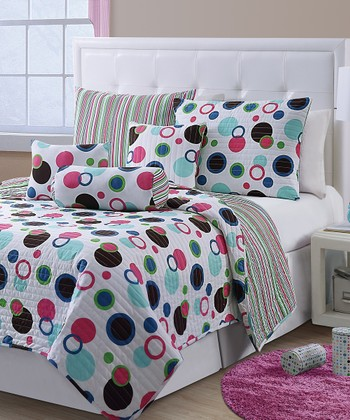 Blue McKenzie Quilt Set