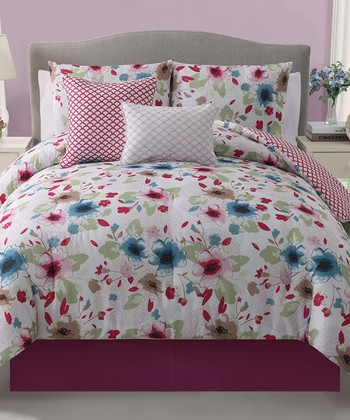 Natalie Reversible Twin Comforter Set