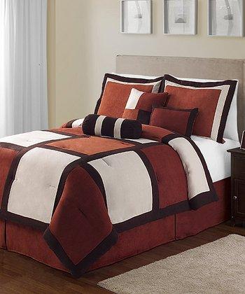 Spice Pinto Queen Comforter Set
