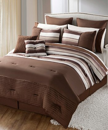 Brown Sasha Comforter Set