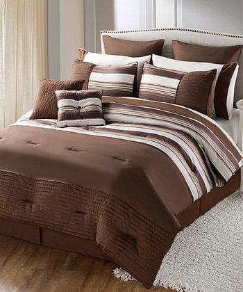 Brown Sasha Comforter Set