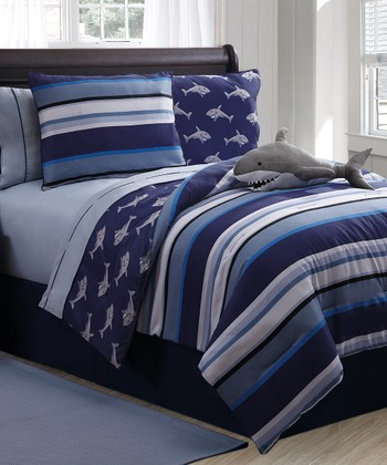 Shark Reversible Comforter Set
