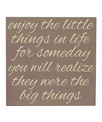 Sparrow & Cream 'Little Things' Wall Art