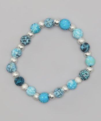 Blue Brook Classic Crystal Bits Stretch Bracelet