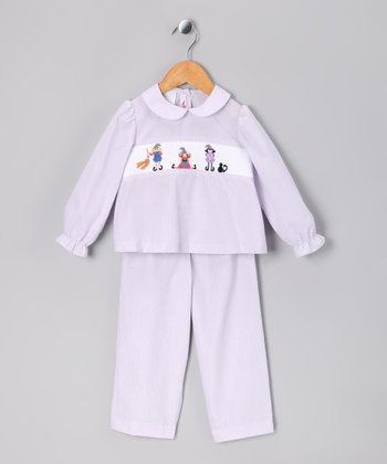Lavender Abracadabra Top & Pants - Infant & Toddler