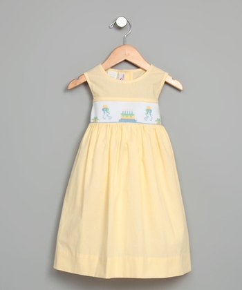 Yellow Birthday Party Dress - Infant