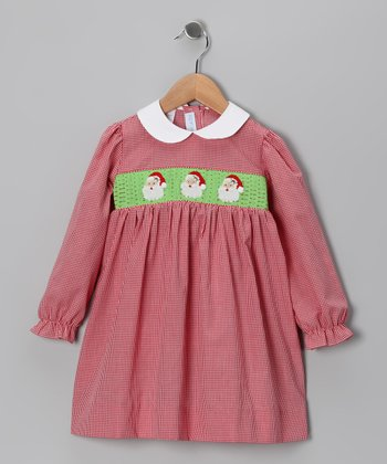 Red Santa Dress - Infant & Toddler