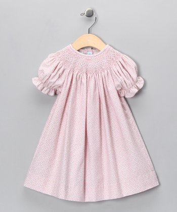 Pink Rose Bishop Dress - Infant