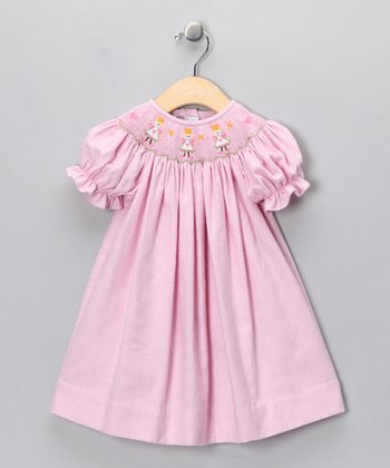 Pink Fairy Bishop Dress - Infant, Toddler & Girls