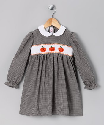 Black Jack-O'-Lantern Dress - Infant, Toddler & Girls