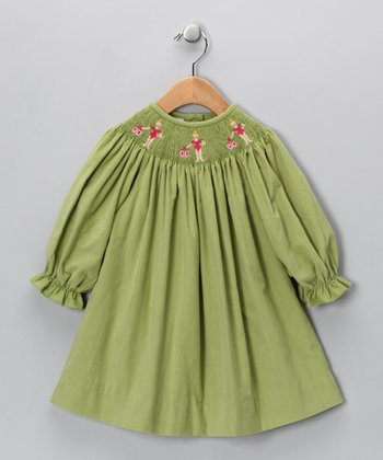 Green Ballet Bishop Dress - Infant & Toddler