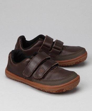 Dark Brown Rooty 30 Sneaker - Kids