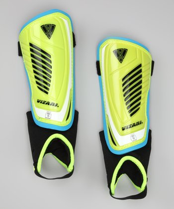 Yellow & Black Laguna Shin Guards
