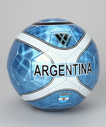 Sky Blue & White 'Argentina' Soccer Ball