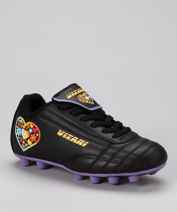 Black & Purple Harmony Cleat - Kids