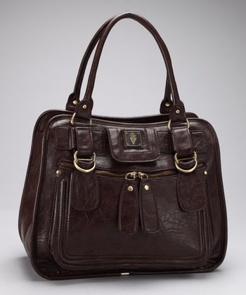 Brown City Center Satchel