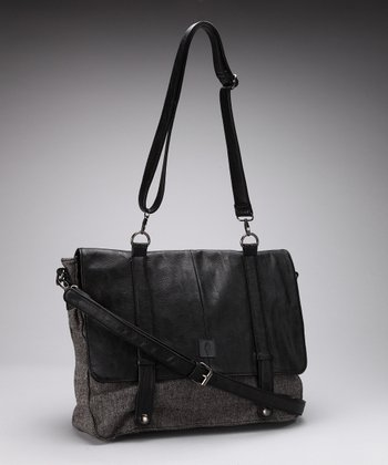 Black Newbury Messenger Bag