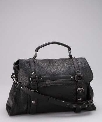 Black Tribeca Satchel