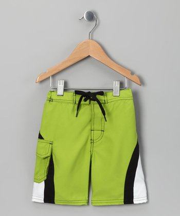 Avocado Swim Trunks - Toddler