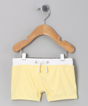 Lemonade Swim Shorts - Infant