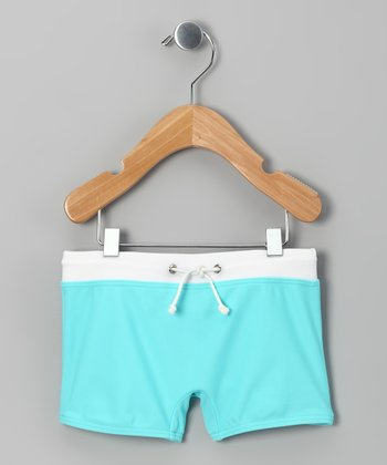 Pool Blue Swim Shorts - Infant & Toddler