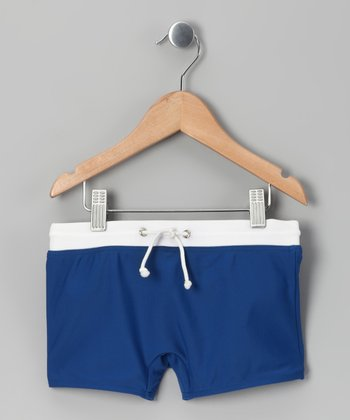 Pacific Blue Swim Shorts - Toddler