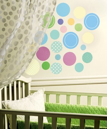 Baby Dots Wall Decal Set