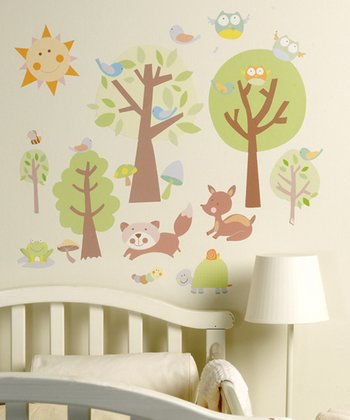 Baby Animal Tales Wall Decal Set