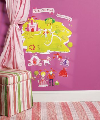 Princess Land Wall Decal Set