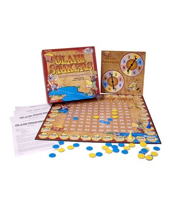 Claim Stakers Board Game