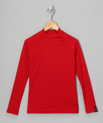 Scarlet Microtech Long-Sleeve Shirt