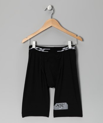 Black Ultrajoc Support Shorts - Boys