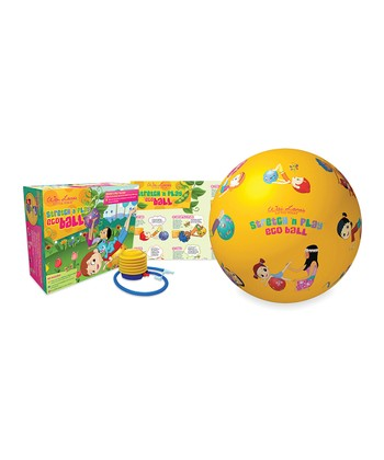 Little Yogis Stretch 'n' Play Eco Ball Set