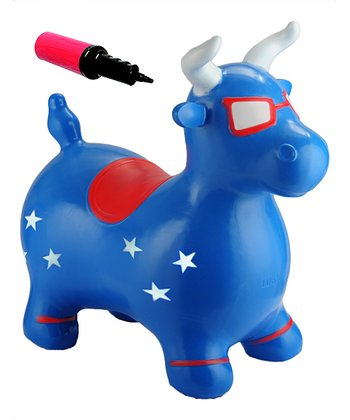 Patriotic Benny the Jumping Bull