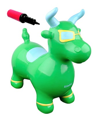 Lime Benny the Jumping Bull