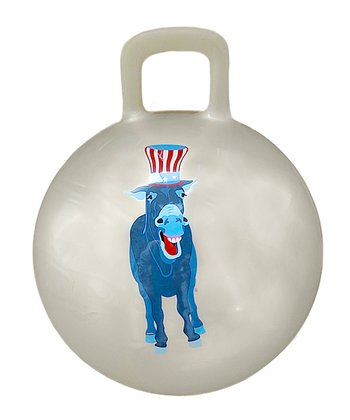 White Donkey Adult Jumping Ball