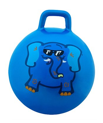 Blue Elephant Jumping Ball