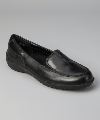 Black Cash Loafer