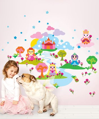 WallCandy Arts Princess Wall Decal Set