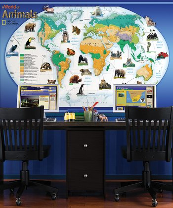 WallPops! Animals of the World Mural