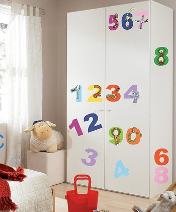 Numbers Wall Decal Set