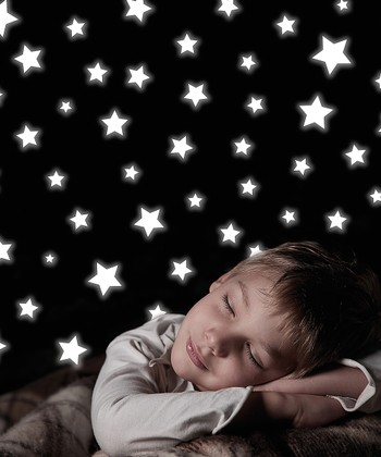 Glow-in-the-Dark Stars Wall Decal Set