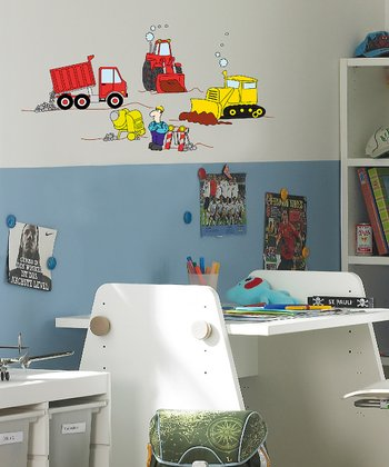 Under Construction Wall Decal Set