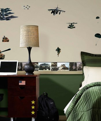 Military Wall Decal Set