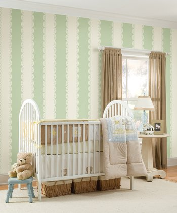 Ivory Stripe Wall Decals Set
